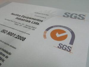 Nautilus obtém Certificação ISO 9001