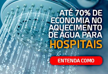70% de economia no aquecimento de água para hospitais