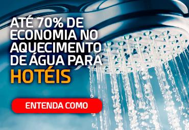70% de economia no aquecimento de água para hotéis