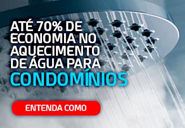 70% de economia no aquecimento de água para condomínios