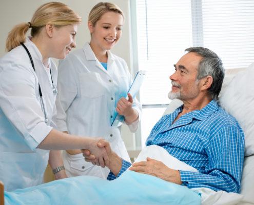 Por que a água quente no hospital é fundamental para a recuperação dos pacientes